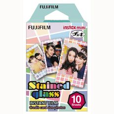 Fujifilm Instax Mini Stained Film 10 Pack