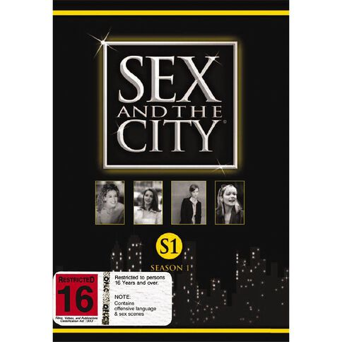 Sex And The City Season 1 DVD 3Disc