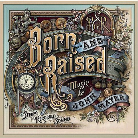 Born And Raised CD by John Mayer 1Disc