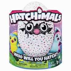 Hatchimals Pengualas Teal or Pink Assorted