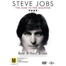 Steve Jobs The Man In The Machine DVD 1Disc