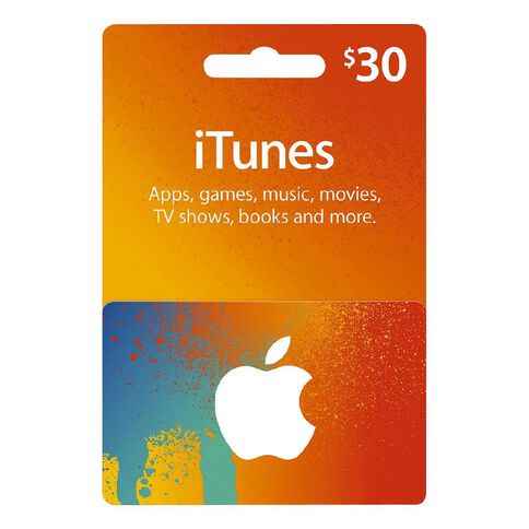 Apple iTunes Splash $30