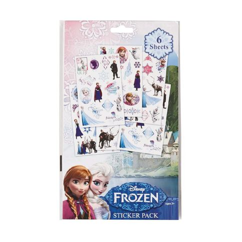 Disney Frozen Stickers Book 6 Pages