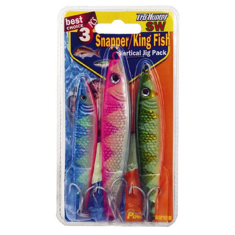 Pro Hunter Snapper Lure Kit 3 Piece