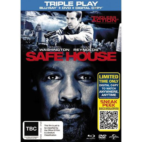 Safe House Blu-ray/DVD 2Disc