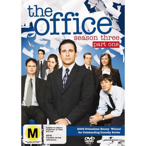 The Office Season 3 Part 1 DVD 2Disc