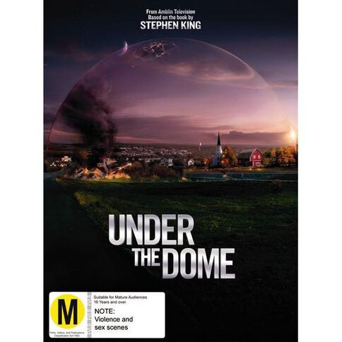 Under The Dome Series 1 DVD 4Disc