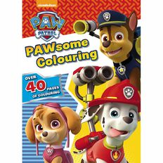nickelodeon paw patrol colouring book - Kids Colouring Books