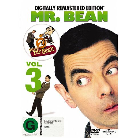 Mr Bean Volume 3 DVD 1Disc