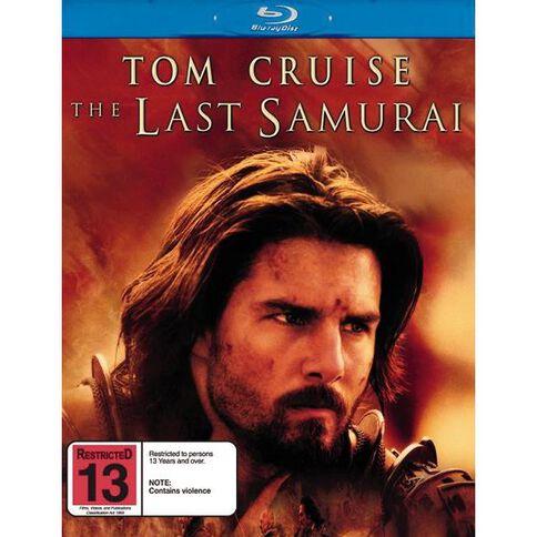 Last Samurai Blu-ray 1Disc