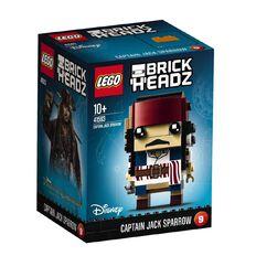 Disney LEGO Brickheadz  Captain Jack Sparrow BRICKHEADZ 9 41593