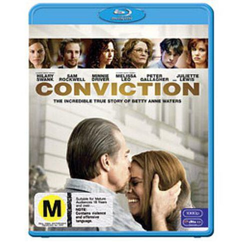 Conviction Blu-ray 1Disc
