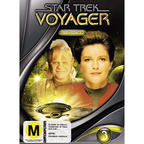 Star Trek Voyager S3 DVD 1Disc