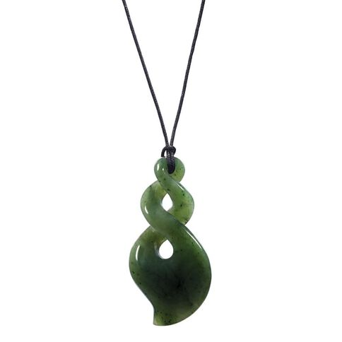 Pendant Jade 2 Twist Tear