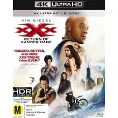 XXX 3 The Return Of Xander Cage 4K Blu-ray 1Disc