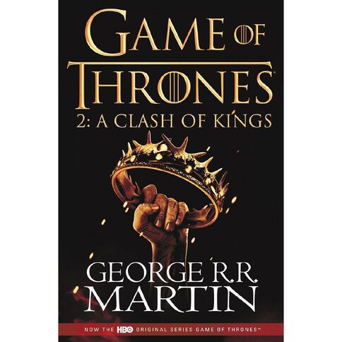 GOT #2 Clash of Kings TV Tie In by George R R Martin