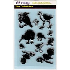 Craft Creations Iconic New Zealand Stamps Collection Assorted