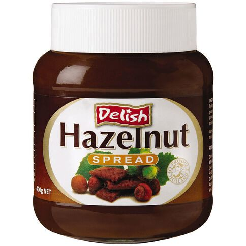 Delish Hazelnut Spread 400g