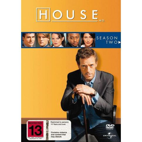 House Season 2 DVD 6Disc