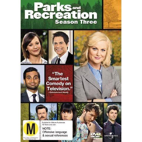 Parks And Recreation Season 3 DVD 3Disc