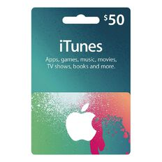 Apple iTunes Splash $50