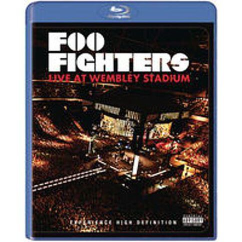 Foo Fighters Live At Wembley (Blu-ray/DVD)