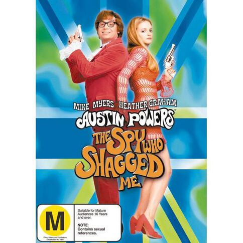 Austin Powers Spy Who Shagged Me DVD 1Disc