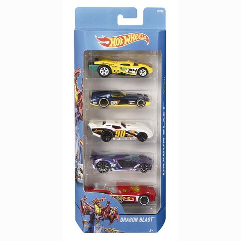 Hot Wheels 5 Vehicle Gift Pack Assorted