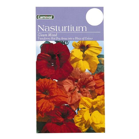 Carnival Seeds Nasturtium Flower
