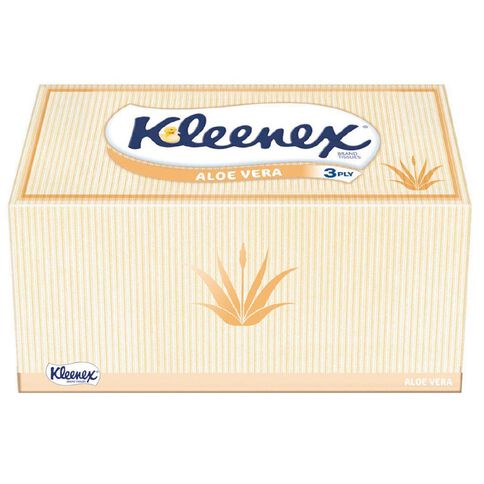 Kleenex Tissues Aloe Vera 140 Pack