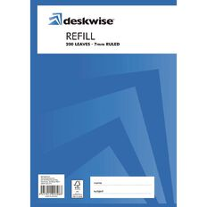 Deskwise Refill Pad 7mm Ruled 200 Leaf