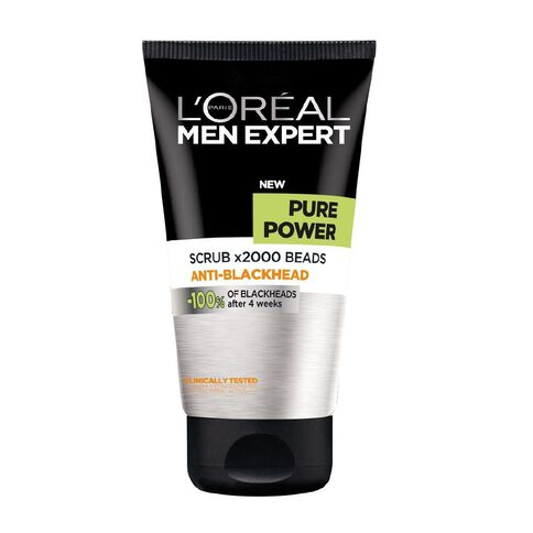 L'Oreal Paris Men Expert Pure Power Scrub 150ml