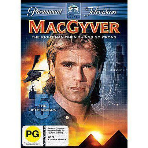 Macgyver Season 5 DVD 6Disc