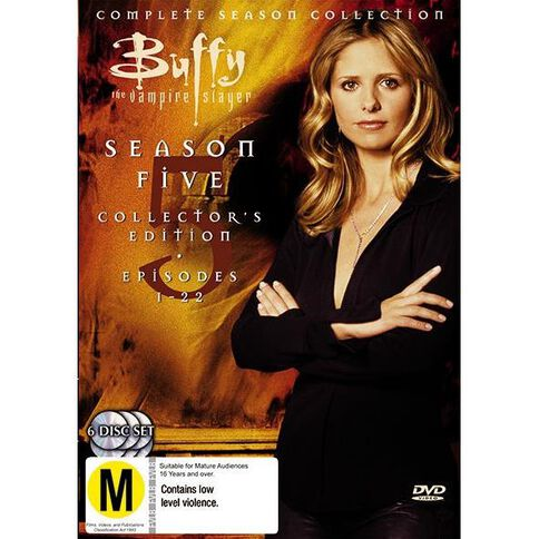 Buffy Season 5 Collection DVD 1Disc
