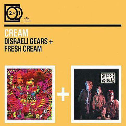 2for1 Disreali Gears/Fresh Cream CD by Cream 2Disc