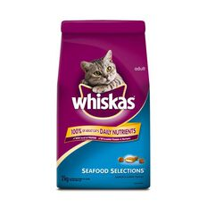 Whiskas Adult Cat Seafood Selections 2kg