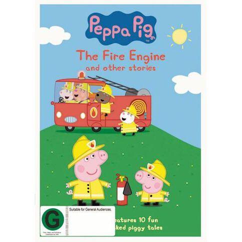 Peppa Pig Fire Engine DVD 1Disc