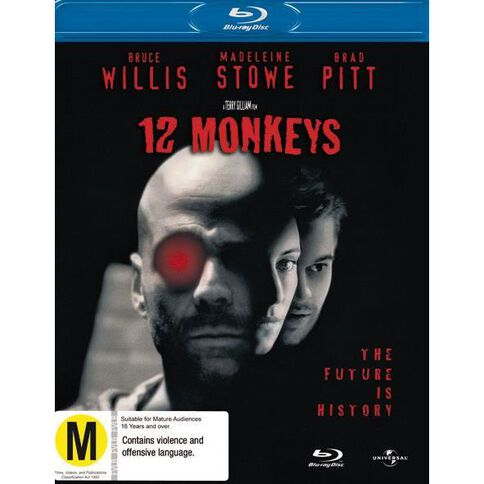 12 Monkeys Blu-ray 1Disc