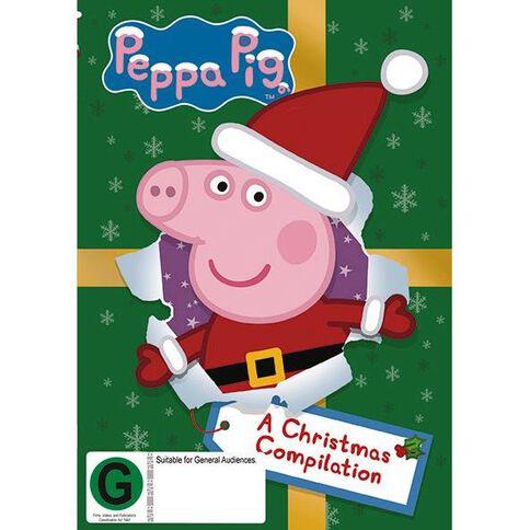 Peppa Pig A Christmas Compilation DVD 1Disc