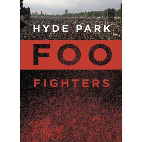 Foo Fighters Hyde Park DVD 1Disc
