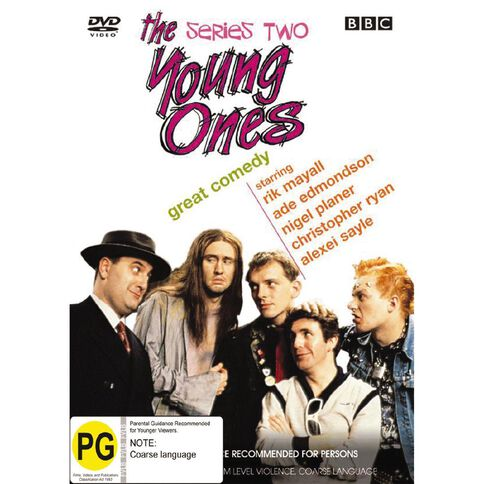 The Young Ones Series 2 DVD 1Disc
