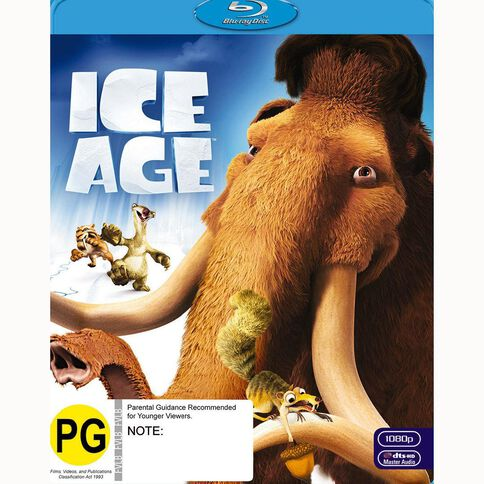 Ice Age Blu-ray 2Disc