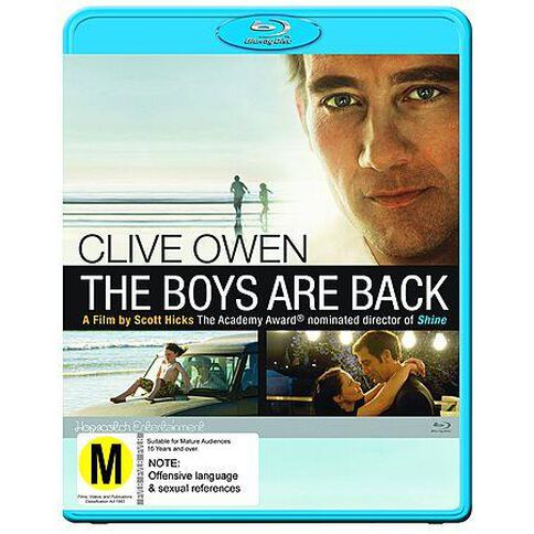 Boys Are Back Blu-ray 1Disc