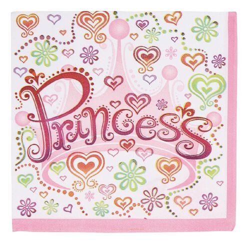 Unique Pretty Princess 16 Luncheon Napkins