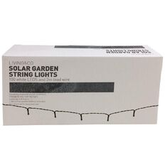 Mason and Jones Solar String Lights White 100 LED
