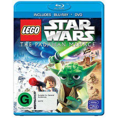 Lego Star Wars The Padawan Menace Blu-ray 1Disc