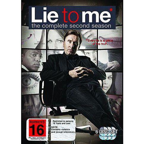 Lie To Me Season 2 DVD 6Disc