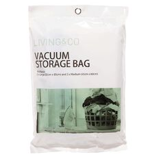 Living & Co Vacuum Storage Bag Multi Size 4 Pack