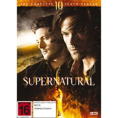 Supernatural Season 10 DVD 5Disc