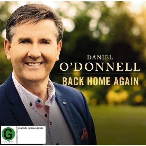 Back Home Again CD/DVD by Daniel O'Donnell 3Disc